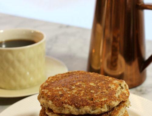 Dorene's Low Carb Almond Vanilla Pancakes