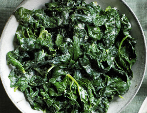 Mike's Low Carb Creamy Spinach